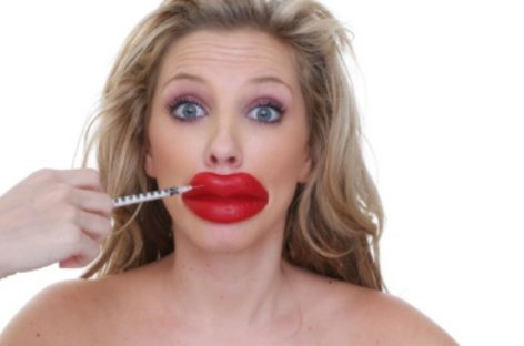 Cosmetic surgery-lip surgery