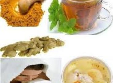 How to cure Common Cold with homemade remedies?