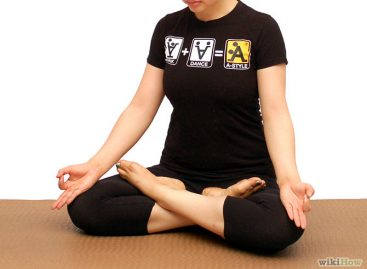 Do yoga at home to be healthy physically and mentally