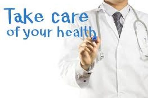 Take care of your health which is a precious wealth